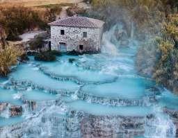Terme di Saturnia/ Cascate del Mulino