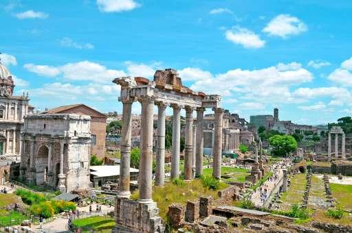Forum Romanum in Italien